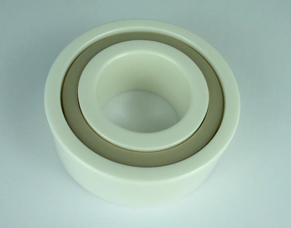 Keramik-Schrägkugellager KER-ZRO2-PEEK