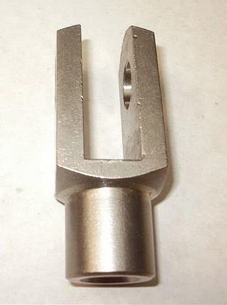 NIRO-Gabelkopf mit Feingewinde