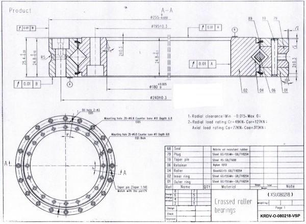 Vierpunktlager KDV-A-160235 ( VA160235N )
